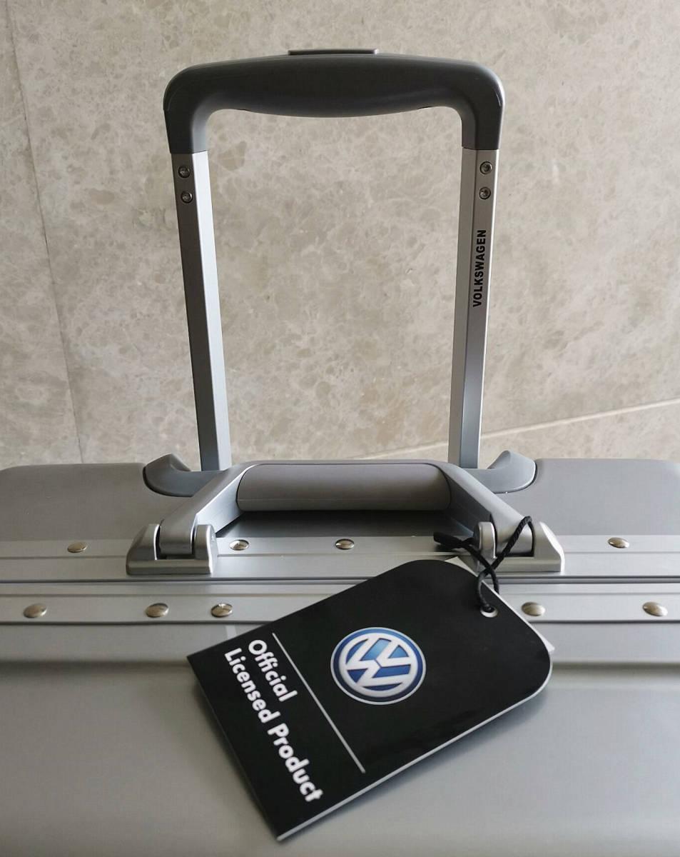 最高級※フォルクスワーゲン/Volkswagen アルミフレーム・軽量/静音・オリジナル・スーツケース・キャリーケース/60L_画像7