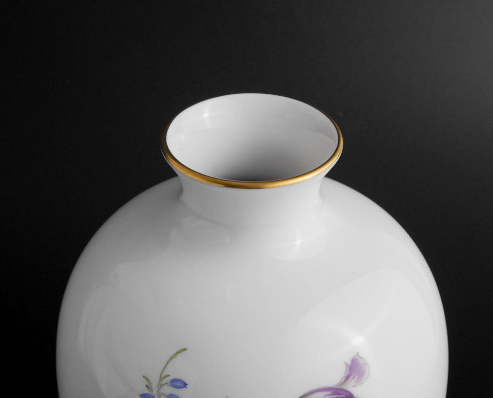 マイセン Meissen フラワーベース 花瓶 ローズ ブーケ flower bouquet rose _画像6