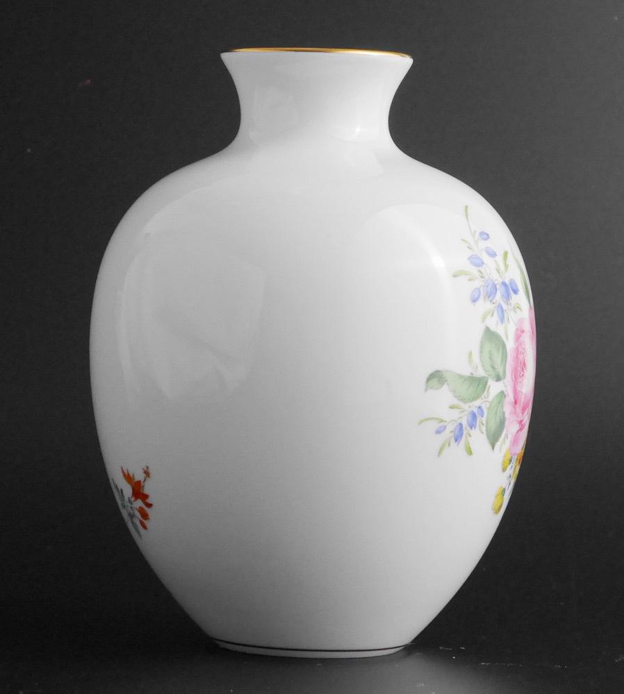 マイセン Meissen フラワーベース 花瓶 ローズ ブーケ flower bouquet rose _画像2
