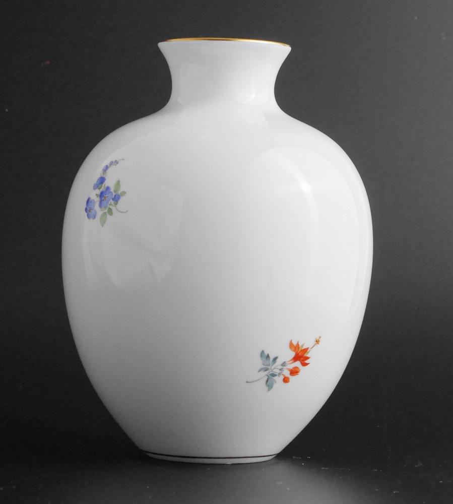 マイセン Meissen フラワーベース 花瓶 ローズ ブーケ flower bouquet rose _画像3