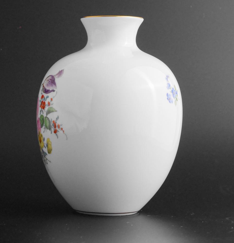 マイセン Meissen フラワーベース 花瓶 ローズ ブーケ flower bouquet rose _画像4