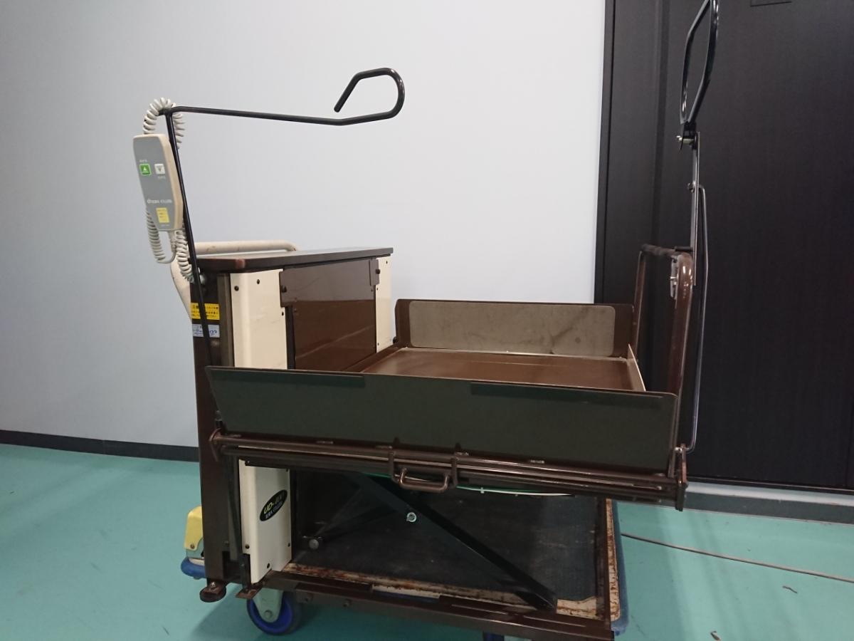 電動昇降機 介護 車椅子 いうら UD-400 電動リフト リフター 看護 デイサービス 福祉車イス 中古 動作確認済み_画像4
