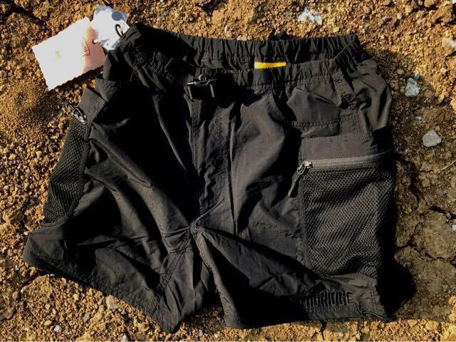 THE APARTMENT STABRIDGE × GRIP SWANY INNER CITY EXPLORER SHORTS (BLACK OUT) M SUPREME THE NORTH FACE シュプリーム ノースフェース