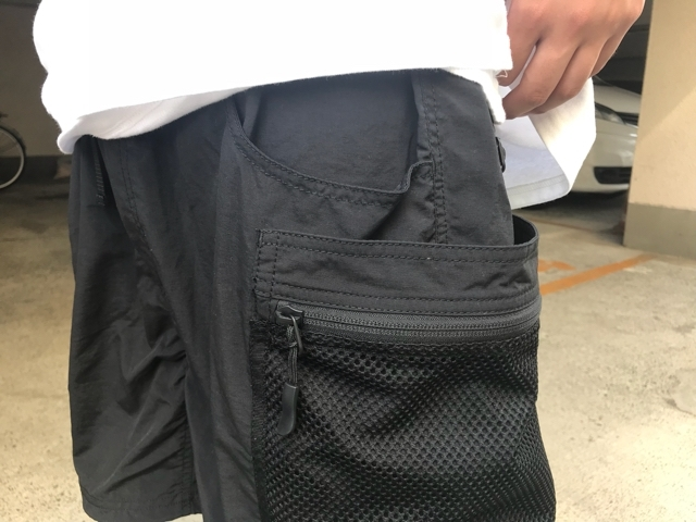 THE APARTMENT STABRIDGE × GRIP SWANY INNER CITY EXPLORER SHORTS (BLACK OUT) M SUPREME THE NORTH FACE シュプリーム ノースフェース_画像5