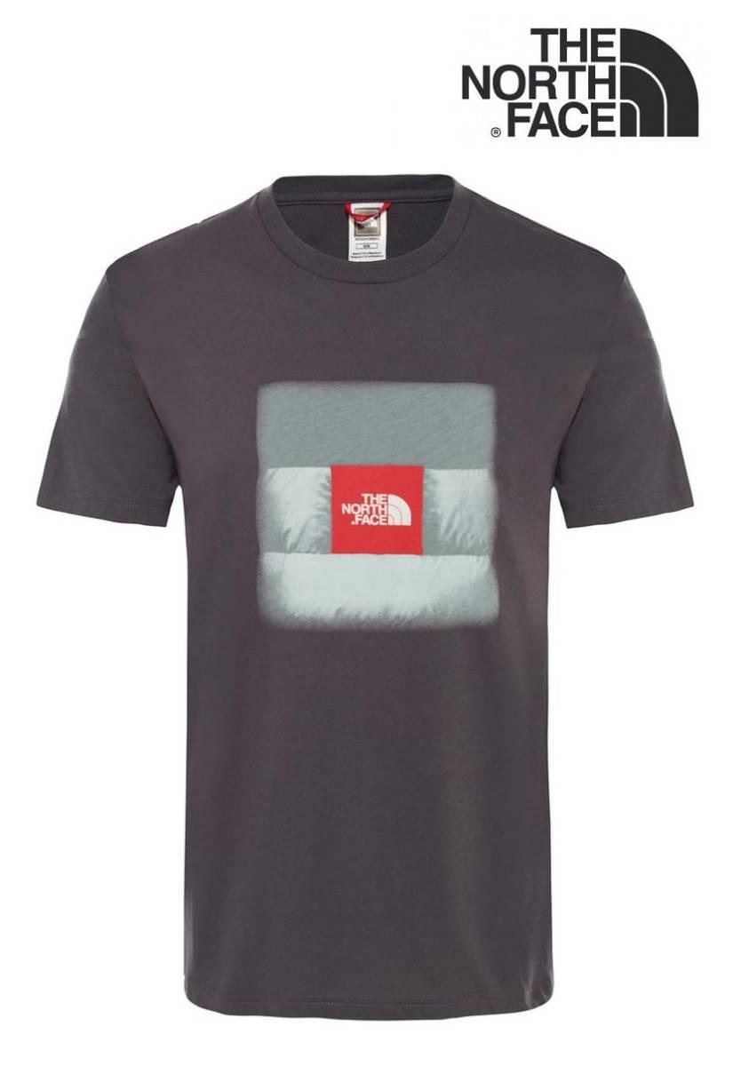 1円~新品正規品☆The North Face T-shirt☆ノースフェイスTシャツ☆The North Face Reissue S/S☆Asphalt Grey☆Mサイズ