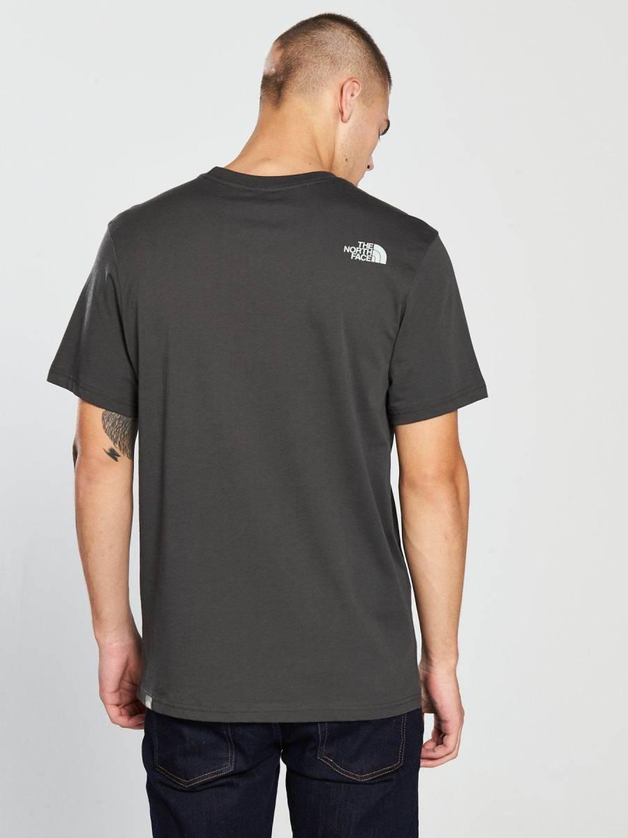 1円~新品正規品☆The North Face T-shirt☆ノースフェイスTシャツ☆The North Face Reissue S/S☆Asphalt Grey☆Mサイズ_画像4
