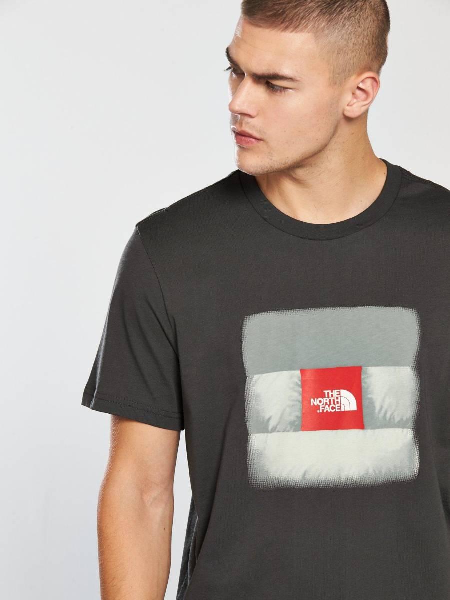 1円~新品正規品☆The North Face T-shirt☆ノースフェイスTシャツ☆The North Face Reissue S/S☆Asphalt Grey☆Mサイズ_画像5