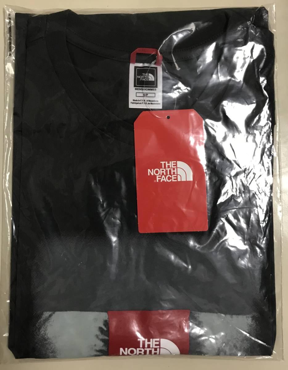 1円~新品正規品☆The North Face T-shirt☆ノースフェイスTシャツ☆The North Face Reissue S/S☆Asphalt Grey☆Mサイズ_画像8