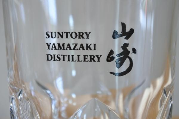 送料無料 サントリー 山崎 SUNTORY YAMAZAKI ロックグラス 3個 未使用品 グラス_画像6