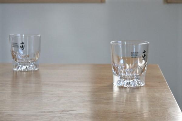 送料無料 サントリー 山崎 SUNTORY YAMAZAKI ロックグラス 3個 未使用品 グラス_画像10