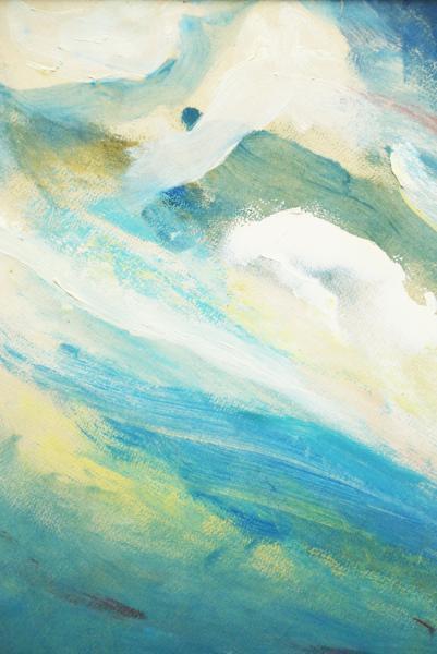 【真袖】宇野マサシ(宇野政之)/下町風景図油彩額/P20/きまぐれ美術館の州之内徹,羽黒洞の木村東介に見い出された現代の長谷川利行/愛知豊田_画像3