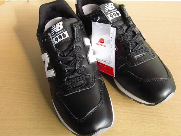 新品ニューバランスnew balance 996 軽量オール革レザー仕様 ブラック 黒 26.5cmレブライトM996スニーカー_画像3