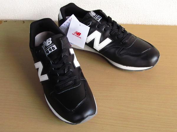 新品ニューバランスnew balance 996 軽量オール革レザー仕様 ブラック 黒 26.5cmレブライトM996スニーカー_画像10