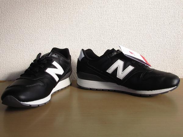 新品ニューバランスnew balance 996 軽量オール革レザー仕様 ブラック 黒 26.5cmレブライトM996スニーカー_画像9