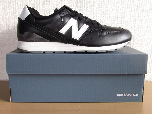 新品ニューバランスnew balance 996 軽量オール革レザー仕様 ブラック 黒 26.5cmレブライトM996スニーカー_画像8