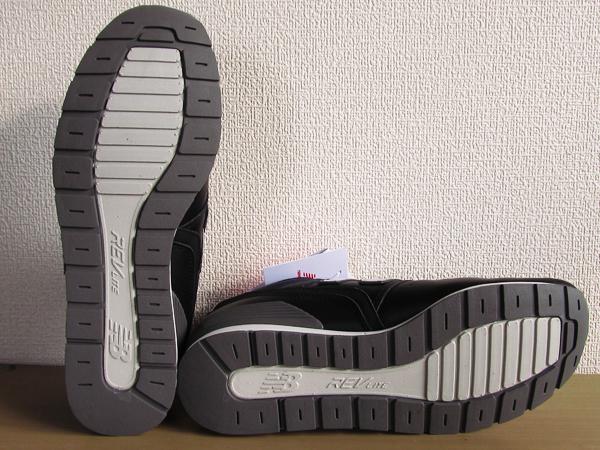 新品ニューバランスnew balance 996 軽量オール革レザー仕様 ブラック 黒 26.5cmレブライトM996スニーカー_画像7
