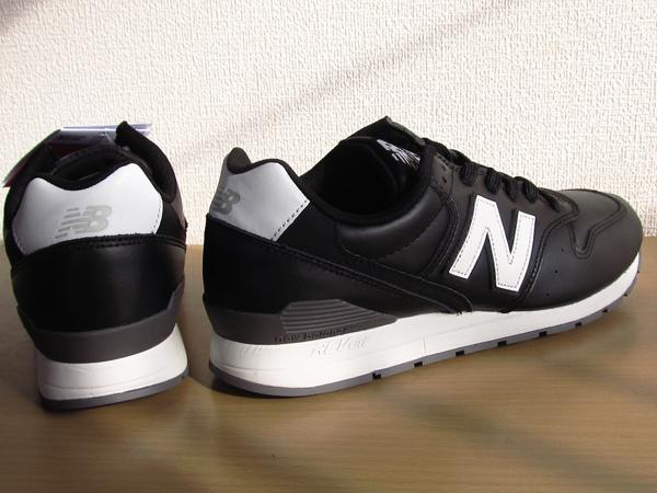 新品ニューバランスnew balance 996 軽量オール革レザー仕様 ブラック 黒 26.5cmレブライトM996スニーカー_画像5