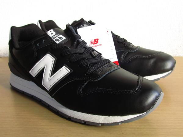新品ニューバランスnew balance 996 軽量オール革レザー仕様 ブラック 黒 26.5cmレブライトM996スニーカー_画像4
