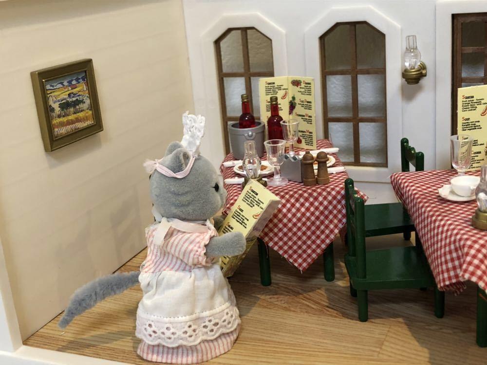 レア!! シルバニア ファミリー Harvester Restaurant ハーベスターレストラン UK_画像4