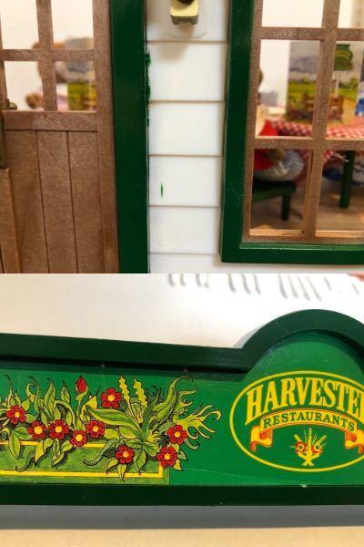 レア!! シルバニア ファミリー Harvester Restaurant ハーベスターレストラン UK_画像10