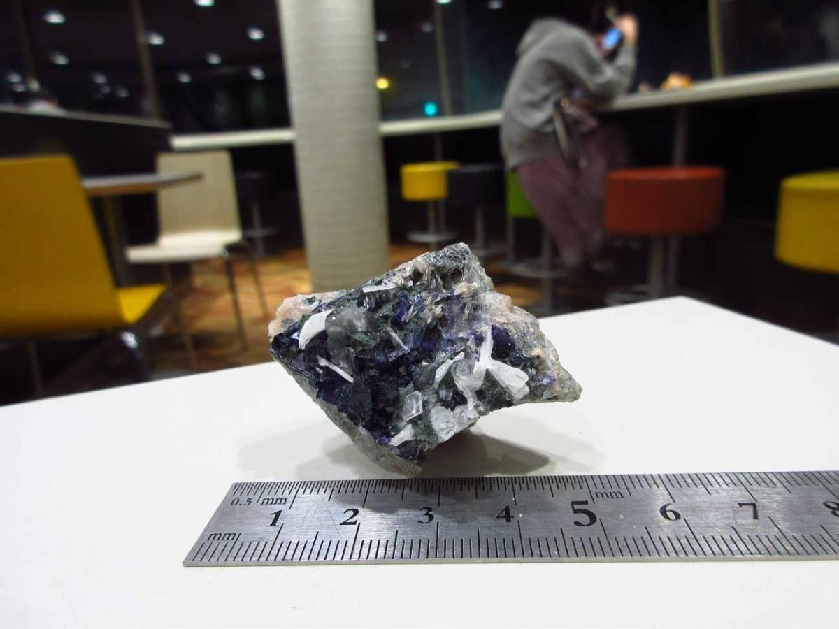 外国産鉱物標本 アイルランド産 フローライト(蛍石)_画像6