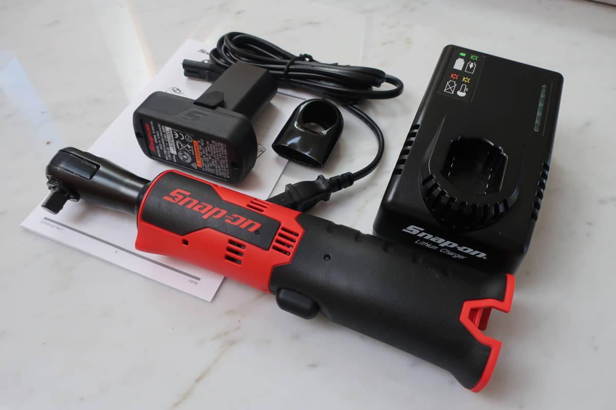Snap-on CTRJ761 新品 3/8 充電式コードレス電動ラチェット  ※外箱なし スナップオン
