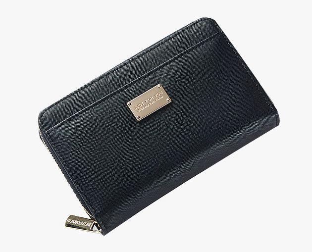 ■送料無料■新品★Aelicyハーフジップアラウンド長財布ブラック黒3【メンズレディース人気ブランド 福袋ギフト2019令和】