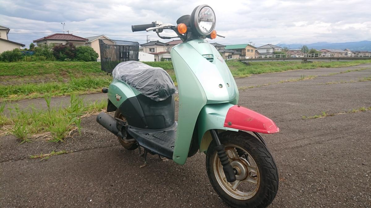 山形県 ホンダ AF61 today トゥデイ実働ベース シート新品_画像2
