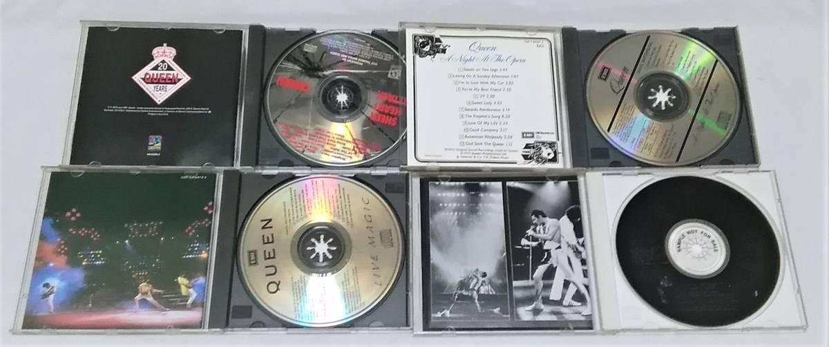 送料無料☆クイーン(QUEEN)/ CDアルバム4作品セット☆プロモーション盤含む☆_画像2