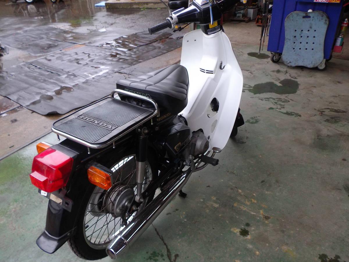 ★ホンダ・スーパーカブ・記念号★バイク50cc中古・オートバイ★長野発・引き取り希望_画像4