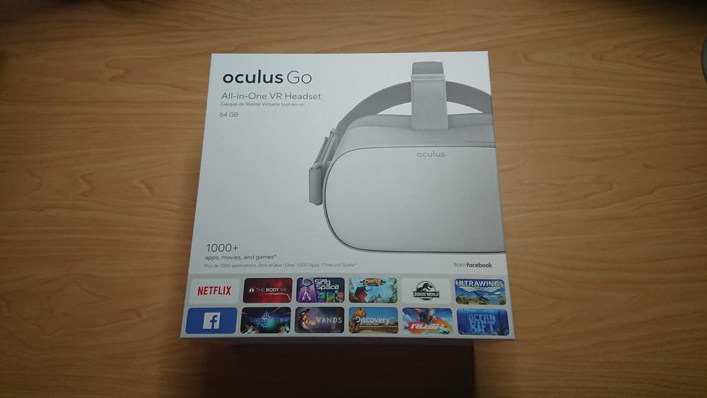 oculus go 64gb 美品 付属品全部あり+2mのUSBケーブル & AC-USB変換アダプタ