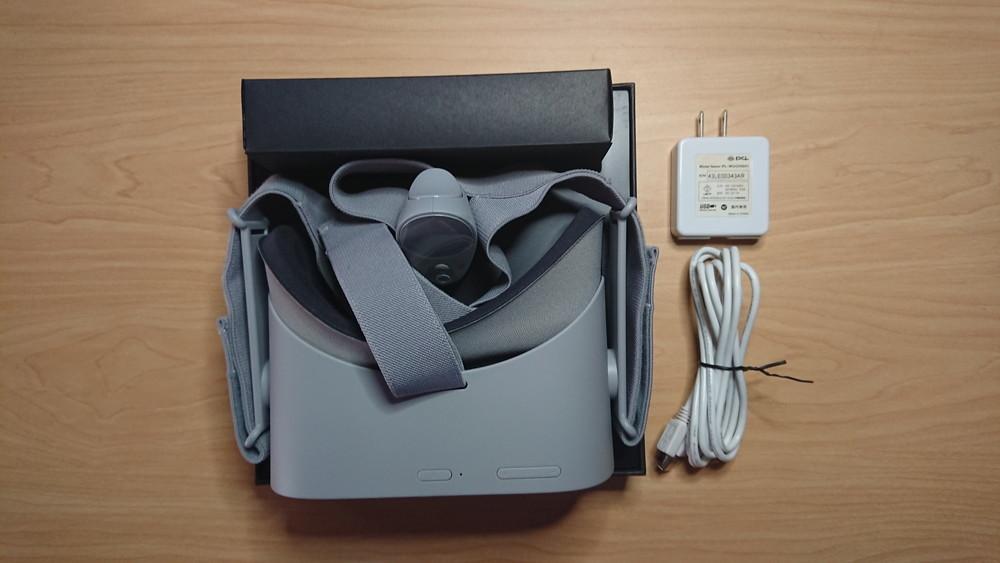 oculus go 64gb 美品 付属品全部あり+2mのUSBケーブル & AC-USB変換アダプタ_画像6