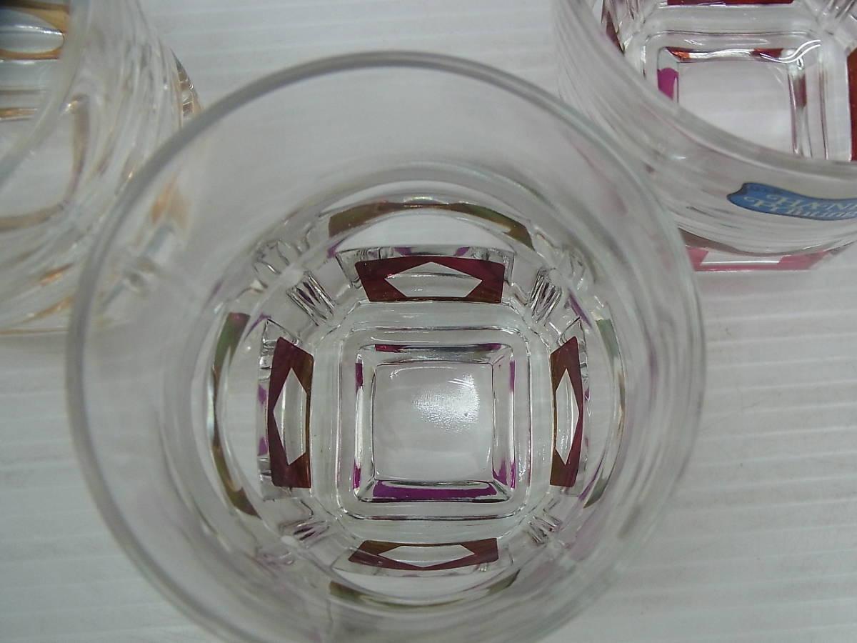 レトロ ロックグラス+灰皿 東洋ガラス/大塚硝子_画像6