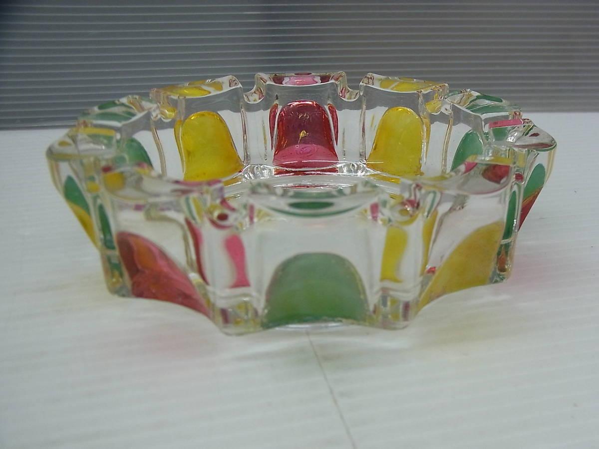レトロ ロックグラス+灰皿 東洋ガラス/大塚硝子_画像8