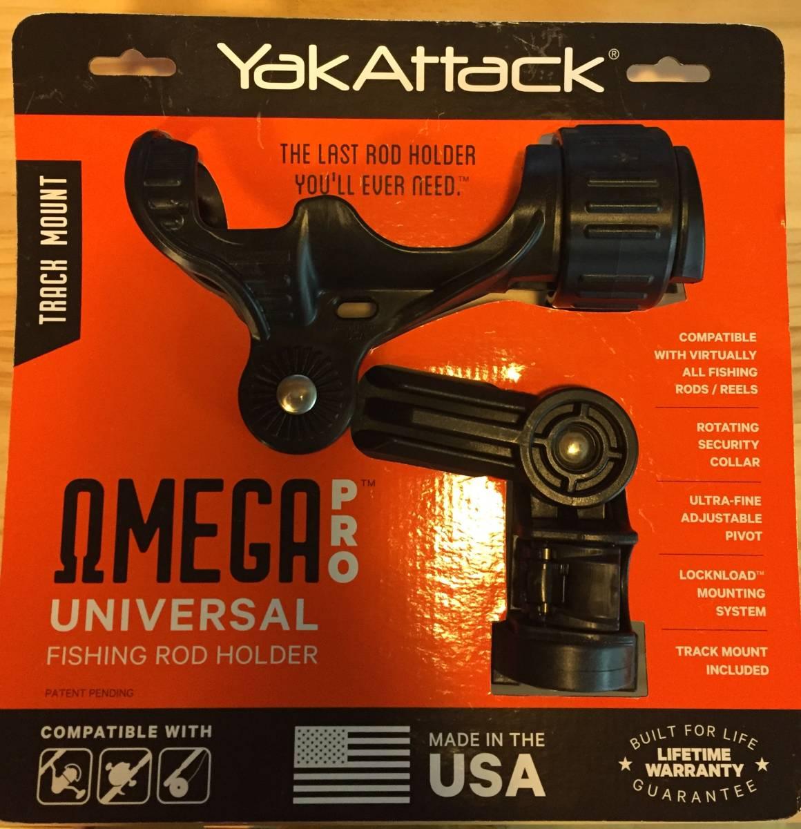 Yak Attack omega pro universal fishing rod holder ヤックアタック オメガプロ ロッドホルダー カヤック ボート フィッシング_画像1