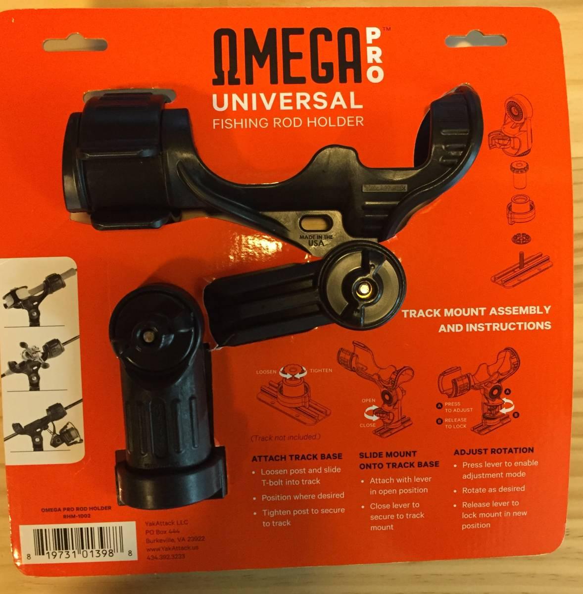 Yak Attack omega pro universal fishing rod holder ヤックアタック オメガプロ ロッドホルダー カヤック ボート フィッシング_画像2