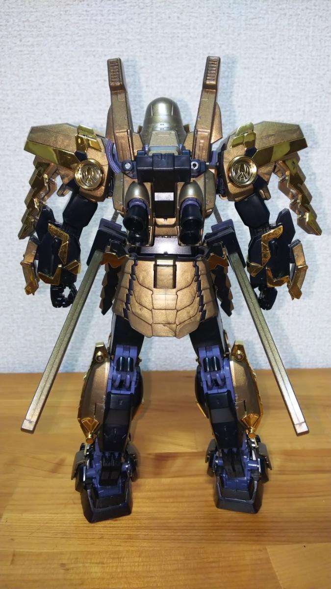MG 1/100 武者ガンダム Mk-Ⅱ 徳川家康ver ガンプラ ガンダム 訳あり ジャンク_画像4