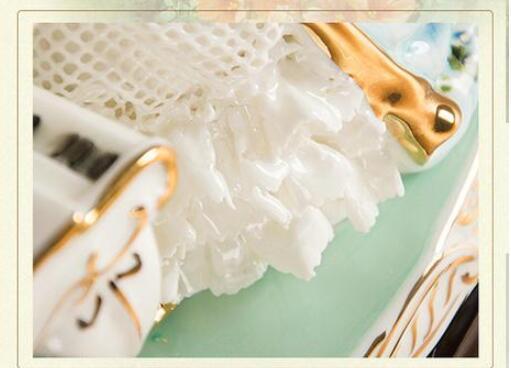ピアノを弾く女性像■インテリア置物 西洋彫刻オブジェ雑貨飾り 北欧陶器装飾 彫刻エレガントデザイ 家具ホームデコ 芸術雑貨家具 Goo-A_画像6