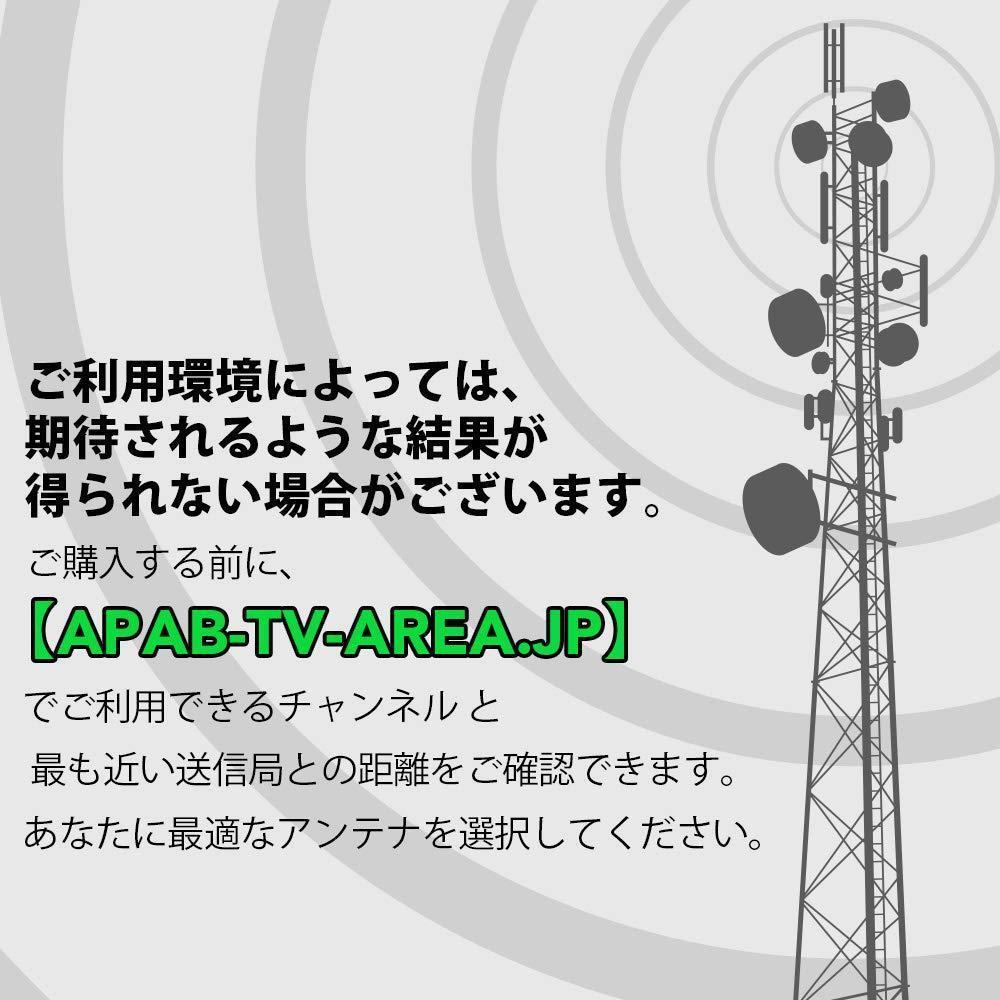 【送料無料】室外 HD TV アンテナ ANTOP 地上デジタル UFOアンテナ UHF対応 スマートパス増幅 360度全方位受信 5M同軸ケーブル 防水外観_画像5