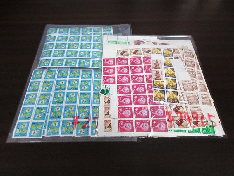 ☆K76 【切手】 まとめて 未使用 額面102,505円 バラ 記念切手 普通切手 年賀切手 通信切手 日本切手 日本郵便