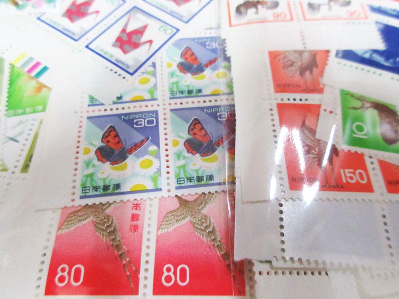 ☆K75 【切手】 まとめて 未使用 額面139,323円 バラ 記念切手 普通切手 年賀切手 通信切手 日本切手 日本郵便_画像3