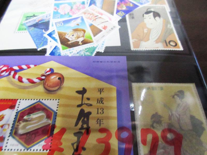 ☆K73 【切手】 まとめて 未使用 額面29,318円 小型シート バラ 記念切手 普通切手 年賀切手 通信切手 日本切手 日本郵便_画像4