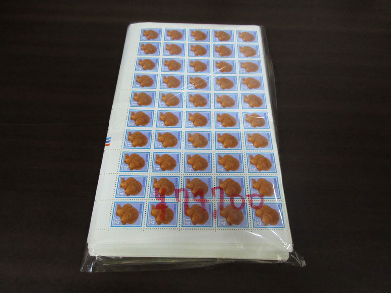 ☆K72 【切手】 まとめて 未使用 額面74,700円 100枚シート シート 記念切手 普通切手 年賀切手 通信切手 日本切手 日本郵便