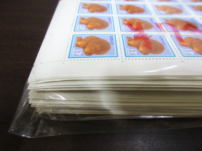 ☆K72 【切手】 まとめて 未使用 額面74,700円 100枚シート シート 記念切手 普通切手 年賀切手 通信切手 日本切手 日本郵便_画像3