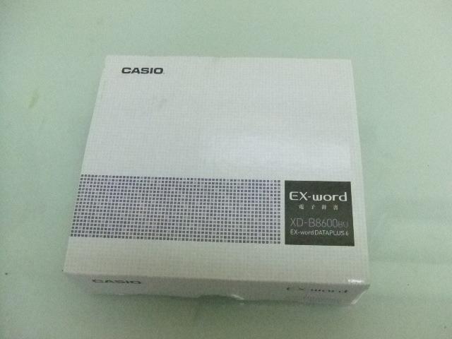 未使用★CASIO EX-word XD-B8600BU DATAPLUS6 電子辞書★