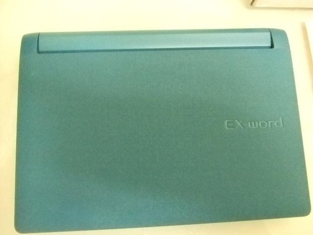 未使用★CASIO EX-word XD-B8600BU DATAPLUS6 電子辞書★_画像4