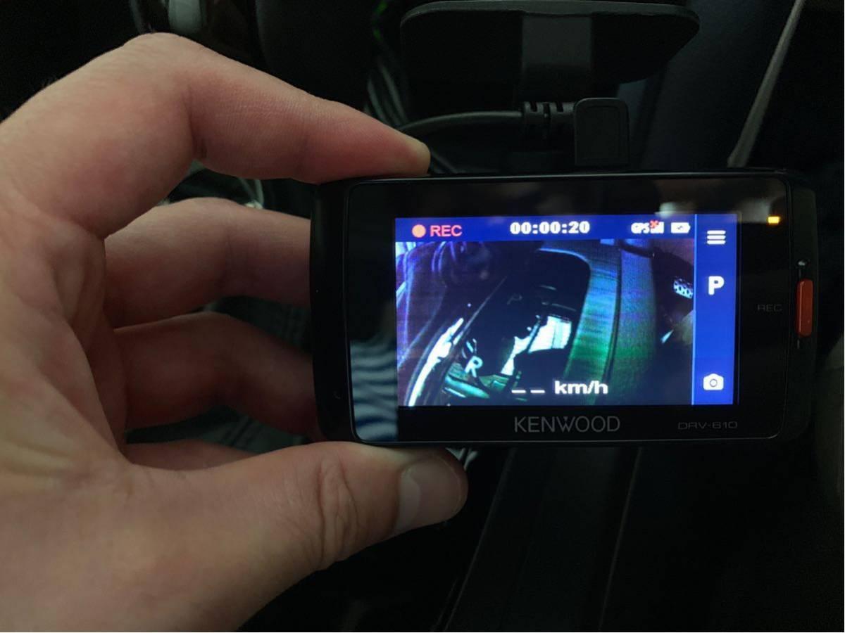 完動品 美品 DRV-610 ケンウッド ドラレコ KENWOOD ドライブレコーダー_画像3