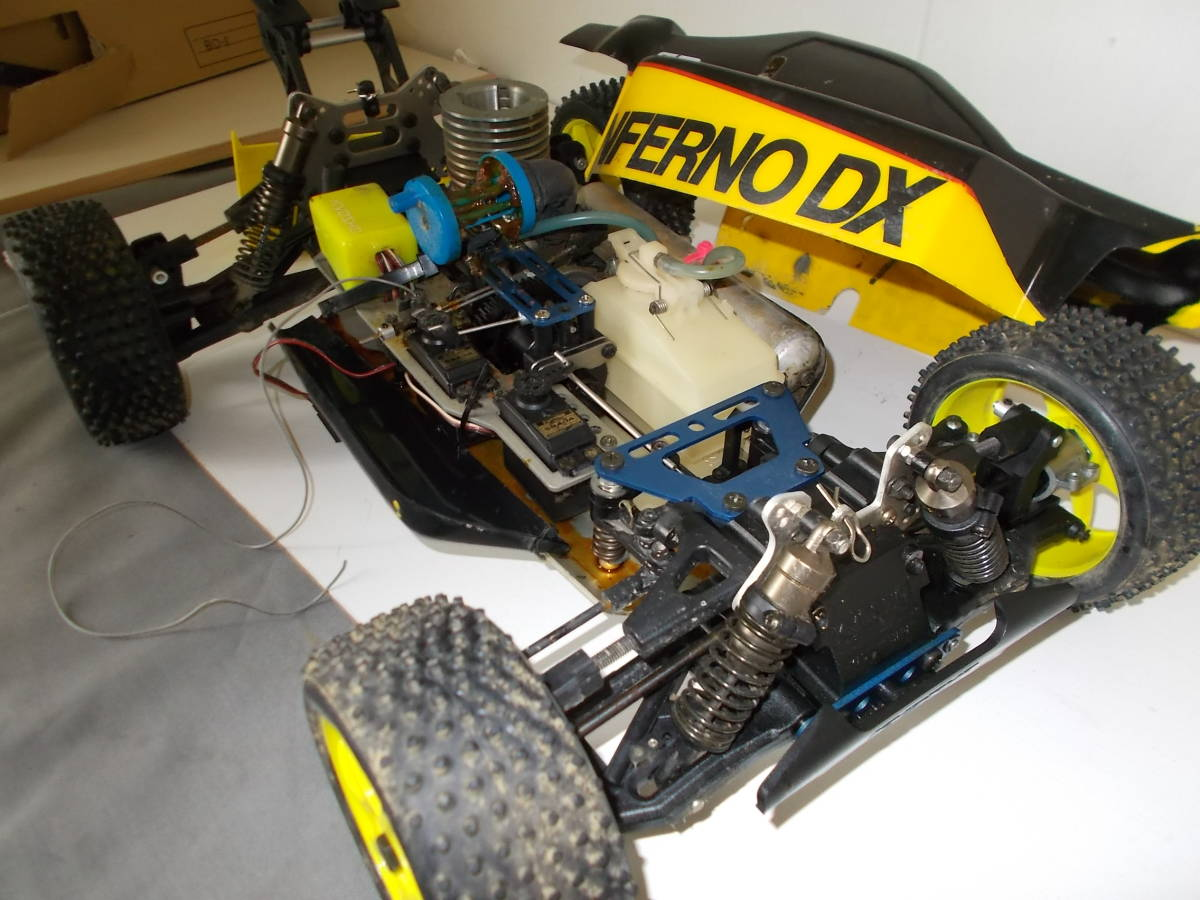 O-3631 ジャンク エンジン式レーシングカー_画像2