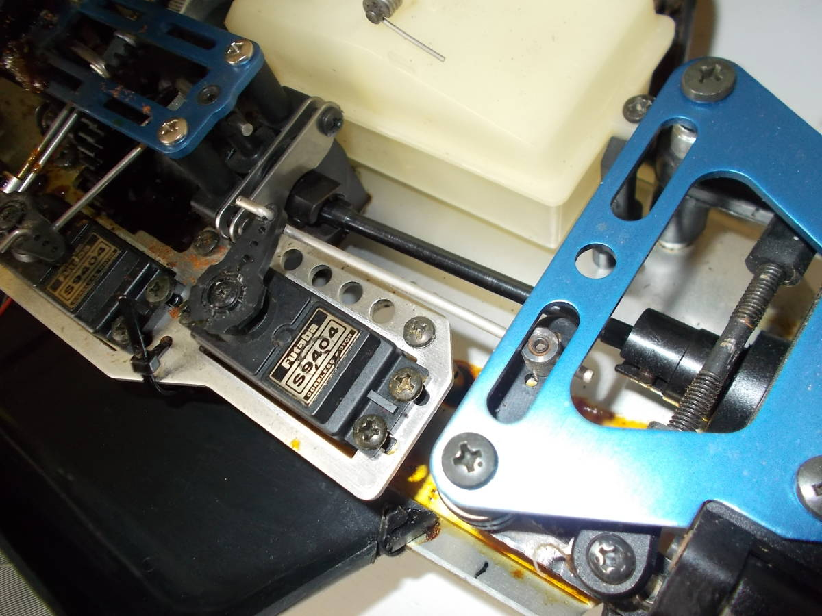 O-3631 ジャンク エンジン式レーシングカー_画像4