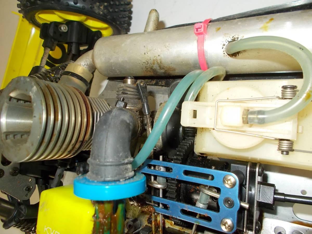 O-3631 ジャンク エンジン式レーシングカー_画像5